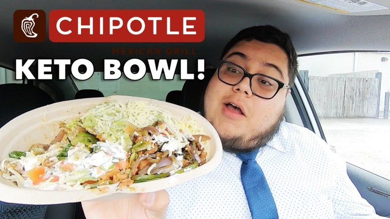 New Chipotle Keto Bowl Food Review!