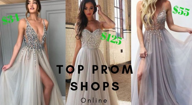 Top 2019 Online Prom Shops To Buy Your Prom Dress – Find Styles As Low As $34!