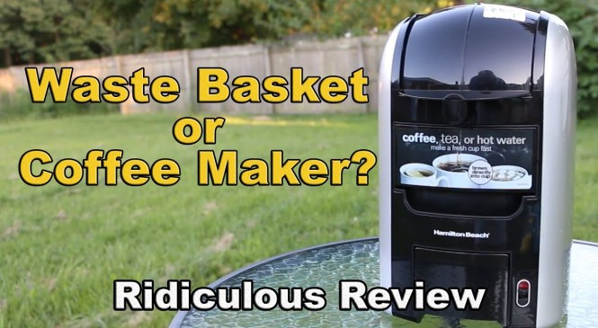 Ridiculous Review: Hamilton Beach 3-in-One Hot Beverage Center