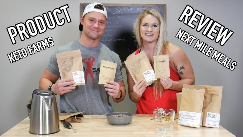 Product Review Of Keto Farms And Next Mile Meals   2.24.19
