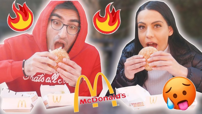 FOOD REVIEW 🌶🔥THE 3 NEW SPICY MCCHICKENS 🌶🔥 FROM MCDONALDS (JALAPENO, HABANERO & GHOST PEPPER)