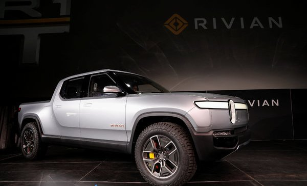 Amazon Invests in Rivian, a Tesla Rival in Electric Vehicles