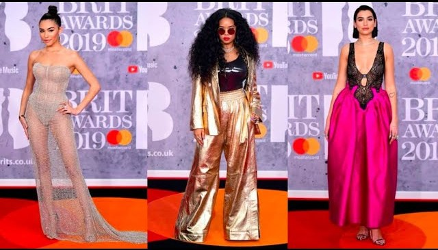 BRITS 2019 Red Carpet Fashion Review