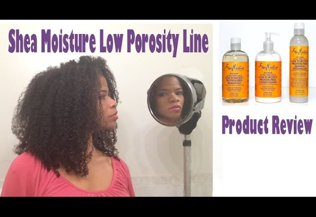 Shea Moisture Low Porosity Line Product Review