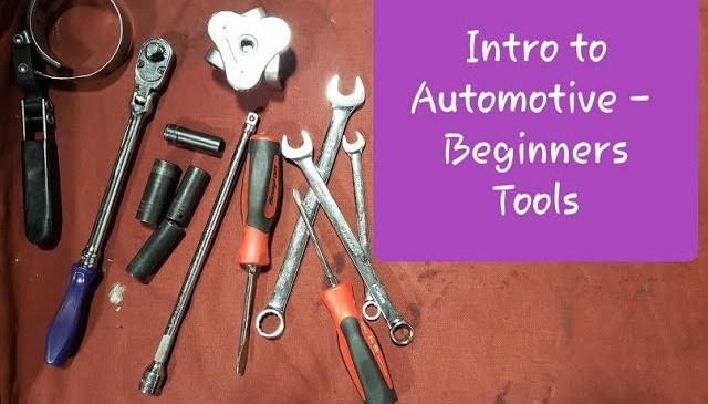 Intro to Automotive – Beginner Tools