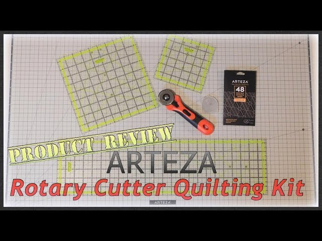 Product Review ~ Arteza Rotary Cutter Quilting Kit