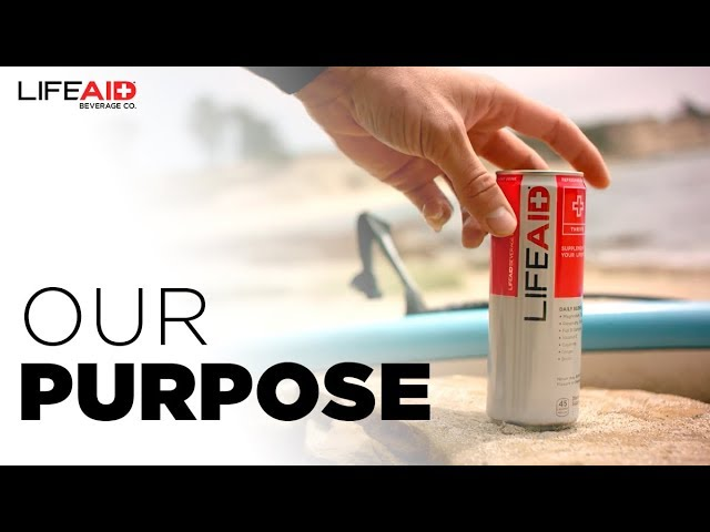 LIFEAID Beverage Company – Our Purpose
