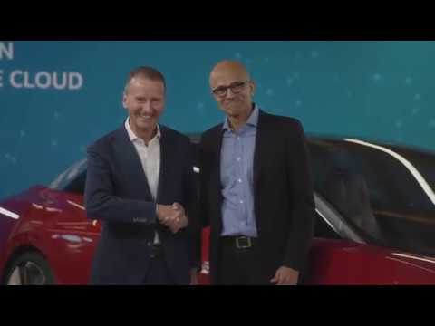 Microsoft and Volkswagen jointly develop the Automotive Cloud