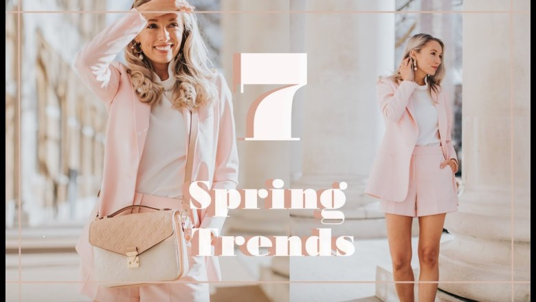 7 SPRING TRENDS YOU CAN WEAR NOW  // Fashion Mumblr