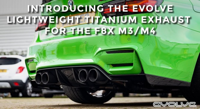 Introducing the Evolve Lightweight Titanium Exhaust for F80 M3/F82/3 M4