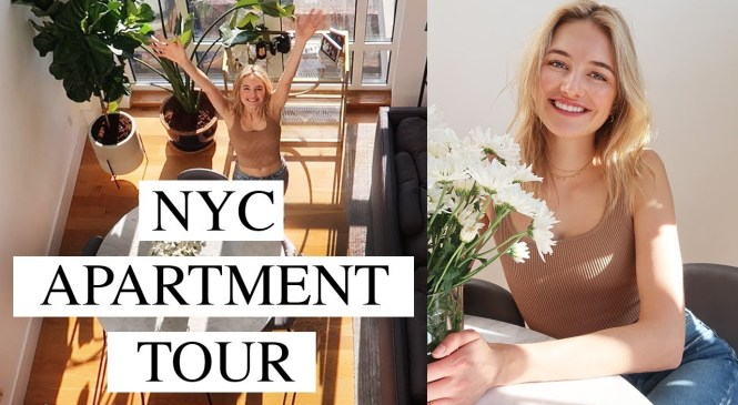 My New Apartment Tour | A Model's Home In NYC + Fashion Closet Tour  | Sanne Vloet