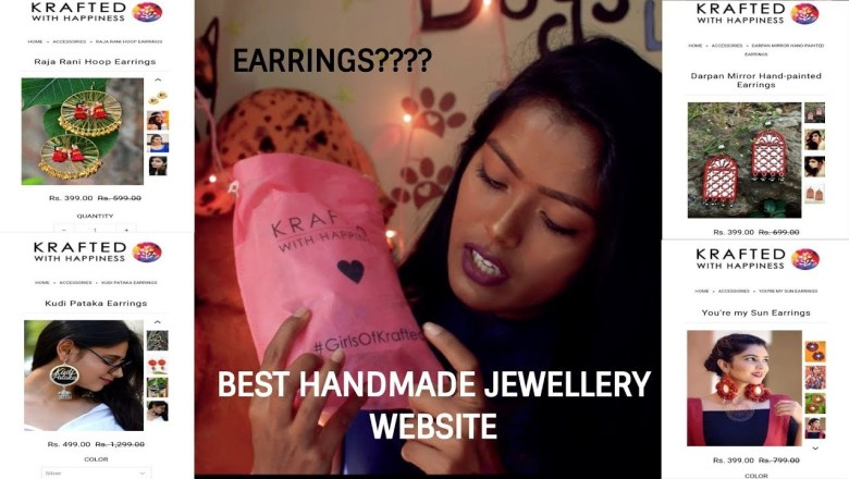 Fashion Jewellery Haul | Fashion accessories under 500 | KRAFTED WITH HAPPINESS |