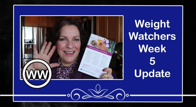 Weight Watchers Week 5 update product reviews and blood pressure monitor