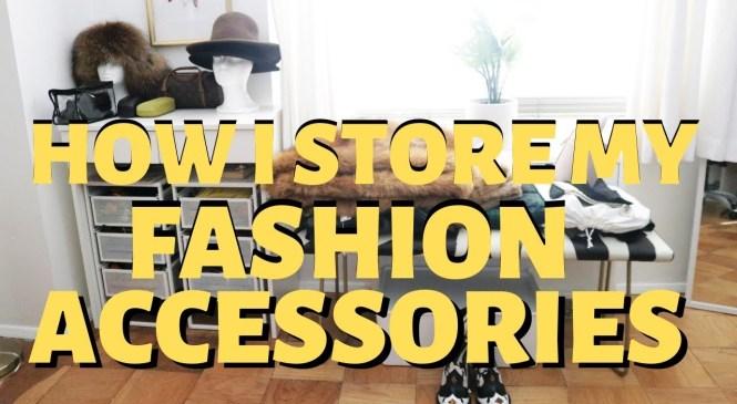 How I Store my FASHION ACCESSORIES (IKEA Lennart + IKEA Brimnes)