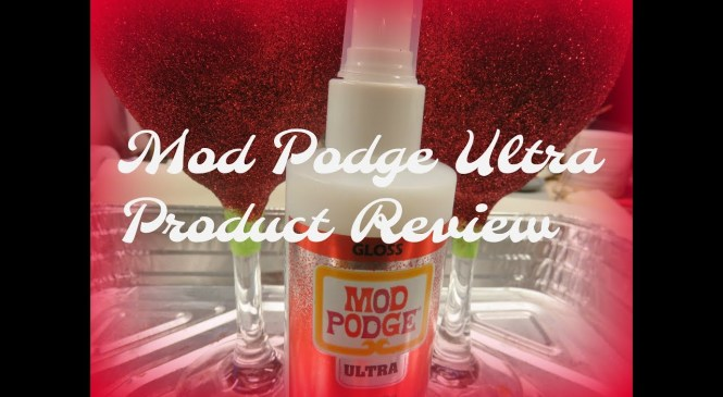 Mod Podge Ultra Product Review   Easy To Use   Aressa   2019