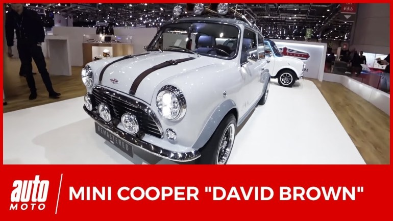 Mini Cooper reconstruites David Brown Automotive