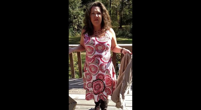 Fashion tip: turn summer dress into a fall outfit
