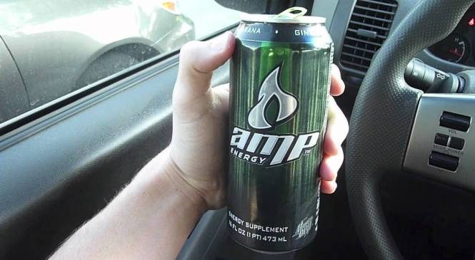 Energy Drink Review: AMP