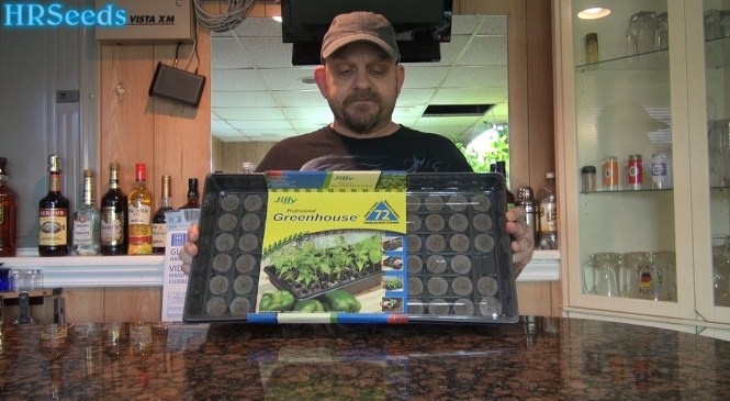 Jiffy Seed Starting Kit | How to plant jiffy peat pellets | Product Review