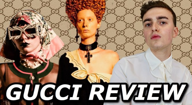 The Death of Gucci??? (Gucci Cruise 2019 Full Fashion Show Review)