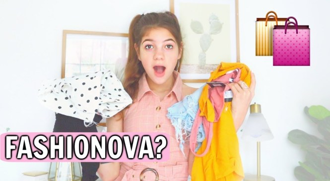 Fashion Nova teen HONEST review try on haul! is it worth it? *BUYER BEWARE*