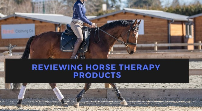 Horse Therapy Product Unboxing/Review (Back on Track's New Line)