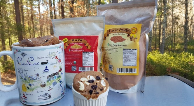 Product Review of Maca and Cacao Powder from Pure Natural Miracles | Breakfast Muffin