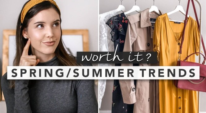 Spring/Summer Fashion Trends: What's Worth It? | by Erin Elizabeth