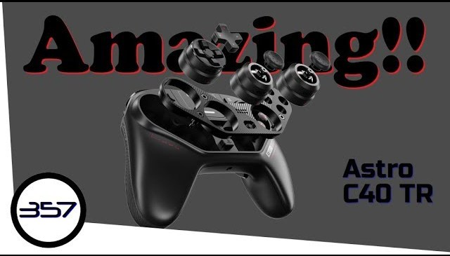 Astro C40 TR Controller for PS4 & PC – Product Review – First Impressions