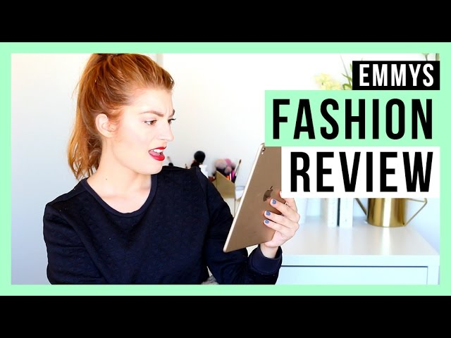 EMMYS 2016 FASHION REVIEW | LOVE, LAUGH & SING