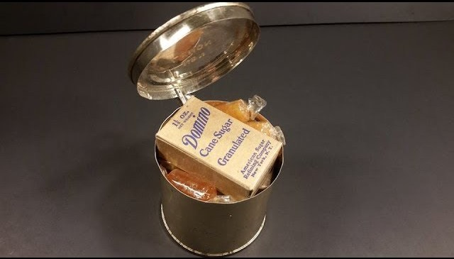 March 1943 US Army Field Ration C Dinner B Unit MRE Review Vintage Meal Ready to Eat Taste Test