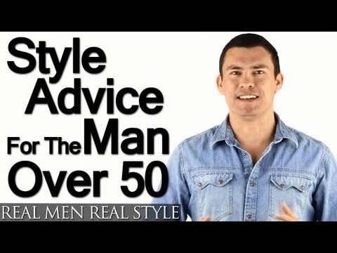 Style Advice For Man Over 50 – 5 Tips On How Older Men Should Build A Wardrobe