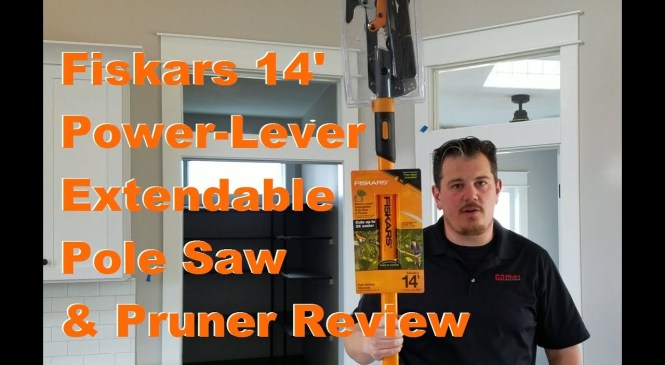 Fiskars 14′ Power-Lever Extendable Pole Saw & Pruner – Product Review