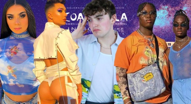 COACHELLA 2019 FASHION ROAST & REVIEW (i've seen james charles' ass too many times this weekend)