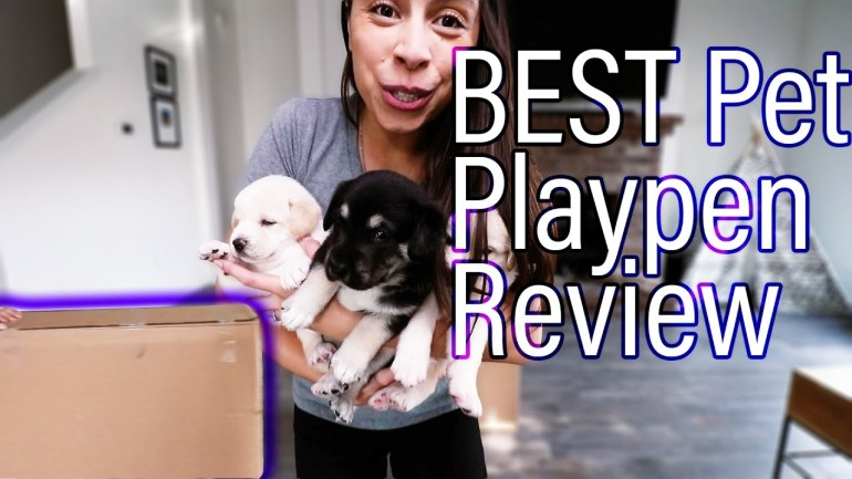 BEST Pet Playpen Product Review // Puppy Playpen 2018