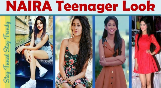Indian Teenage #Girl Fashion Trend| #naira #kaira Lookbook Yrkkh |College Outfit Ideas{Short Dress)