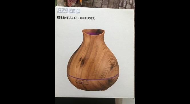 BZSeed Essential Oil Diffuser| Cool Mist Humidifier| Product Review