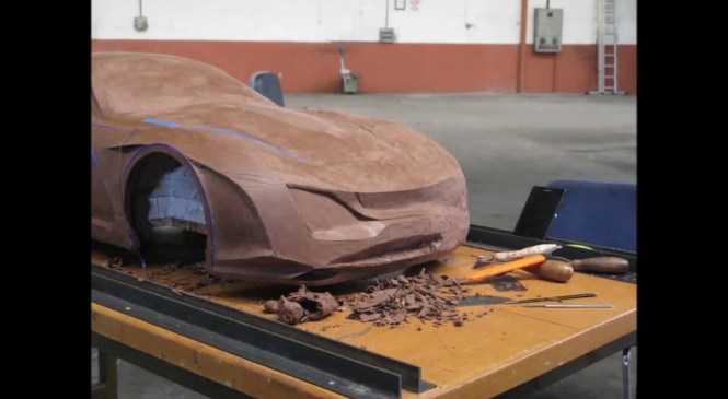 Automotive Design Clay Modelling