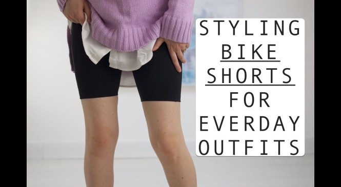 Styling Bike Shorts: Spring 2019 Fashion Trend Review