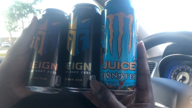 Monster x Reign energy drink review