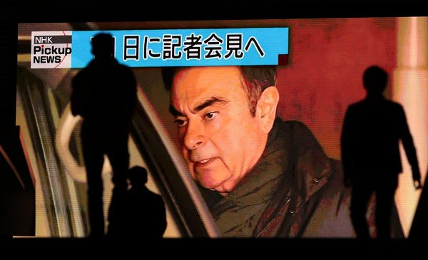 Carlos Ghosn, for a 2nd Time, Is Released From Jail After Posting Bail