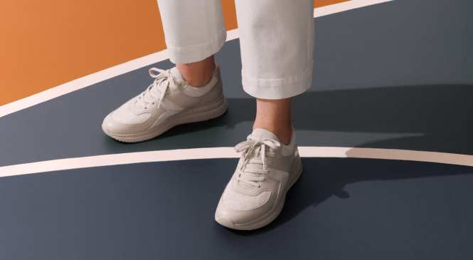 See Everlane's first sneaker. It's green, cheap, and so normcore-chic
