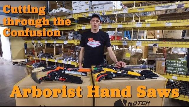Arborist Hand Saws – Product Review TreeStuff.com