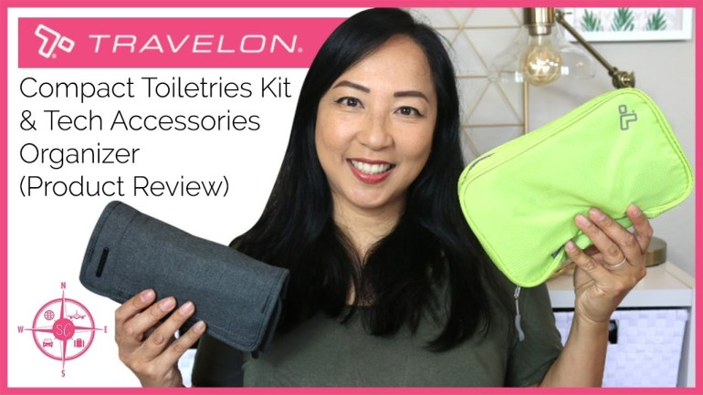 Travelon Compact Toiletries Kit and Tech Accessories Organizer (product review)