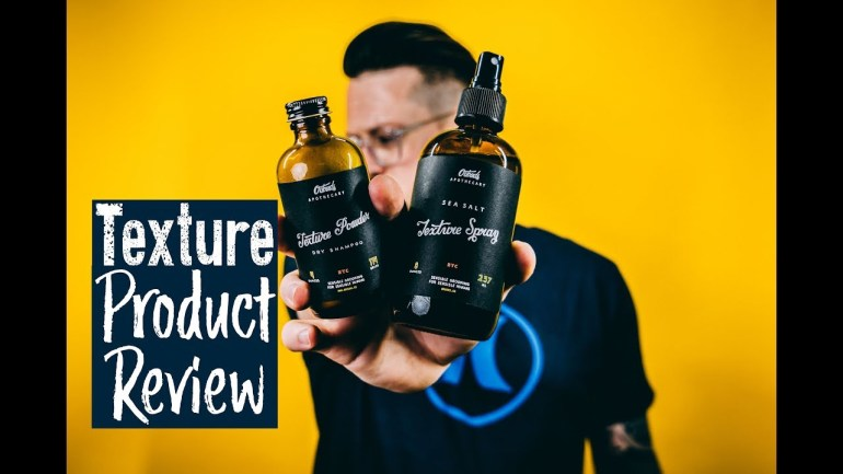 Odoud's Product Review l The Most PECULIAR Texture Spray? l Men's Hair Texture