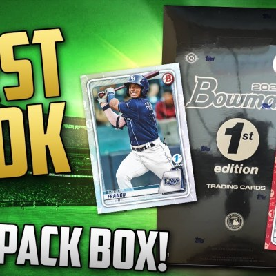 2020 BOWMAN 1st EDITION!!! 💎 Product Review