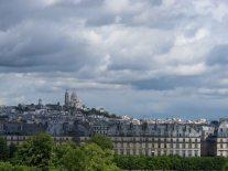 Una vista della collina di Montmartre dal Museo d'Orsay