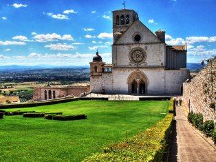 Assisi, la Basilica superiore.
