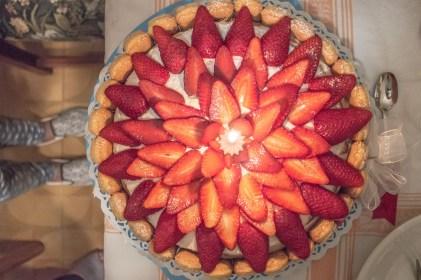 Strawberry cake forever