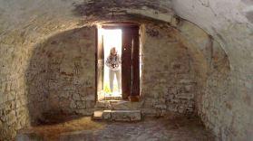 We finally enter the cellar...